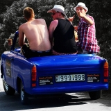 Enjoy the ride - Humiliating Trabant Transfer