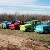 The Trabant fleet is waiting for to serve you on your stag party - Humiliating Trabant Transfer