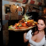 Delicious food served at the medieval restaurant - Medieval Dinner
