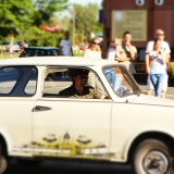 This car will challange you - Trabant Rally