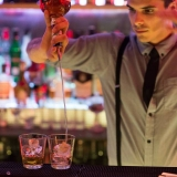 Cool barterdeners serving high quality drinks at all the places - Pub and Club Crawl