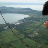 Enjoy the view from the sky - Hot Air Balloon