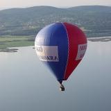 High above the Danube  - Hot Air Balloon