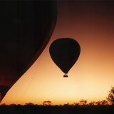 Watch the sunset from a hot air balloon - Hot Air Balloon