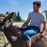Donkey race on Puszta Olympics - Puszta Olympics
