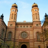 The Jewish quarter is famous for it\'s Synagogue - Guided City Tour