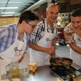 A quite enjoyable stag do activity - Prepare your own Steak