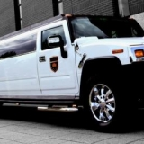As the start of your stag weekend this Hummer picks you up at the airport - Like a Boss in Budapest