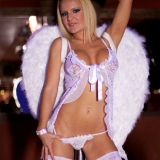 An angel from heaven brings bless to your stag weekend - Stripper