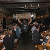 Show on a busy night at the restaurant - Medieval Dinner