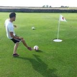 Das Fuß-Golf