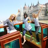 Die Donau Luxusyacht